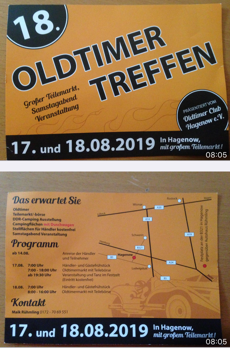 18. Oldtimertreffen in Hagenow