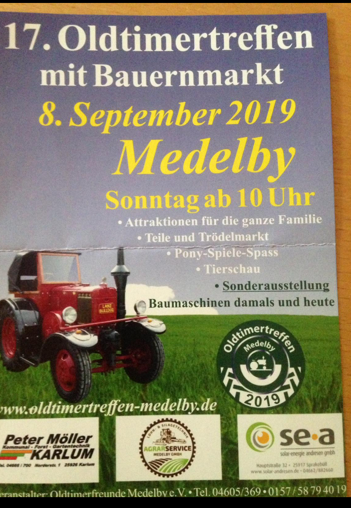 17. Oldtimertreffen in Medelby