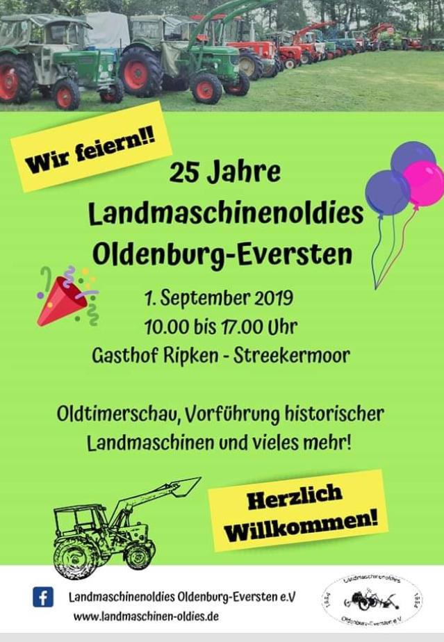 25 Jahre Landmaschinenoldies @ Gasthof Ripken-Streekermoor