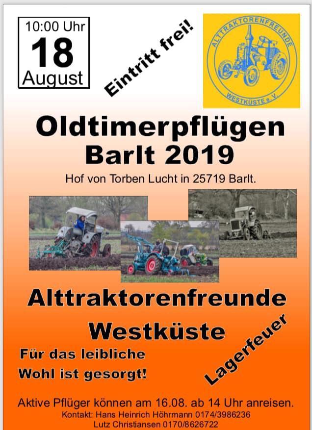Oldtimerpflügen in Barlt